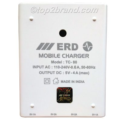 ERD TC 80 Four USB Dock Charger